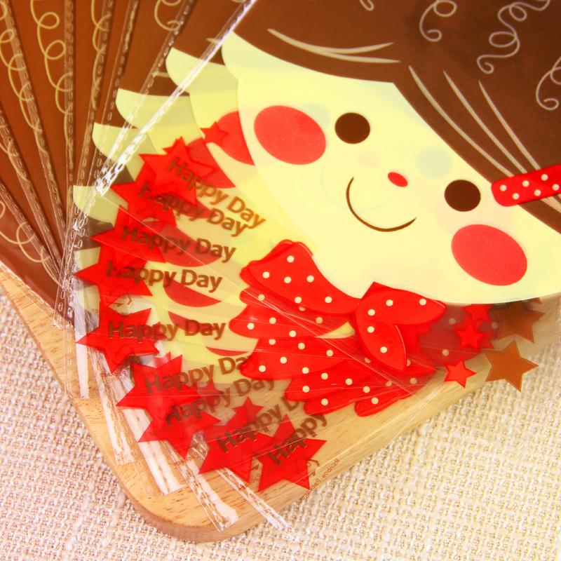 可爱娃娃饼干袋 蛋糕袋