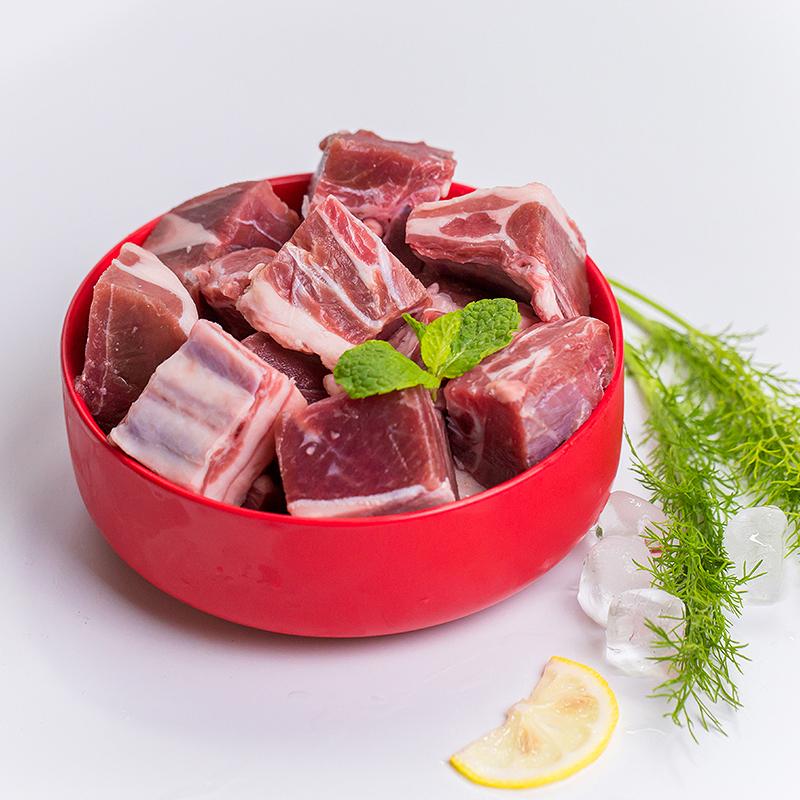 【甘草羊】鲜动生活 甘肃菁茂甘草羊1500g有机羊肉全羊切块(买就送1份宁夏枸杞)