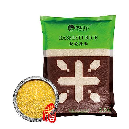 【豆果明星大米】靓禾良仓 正宗东北大米五常长粒香5斤 买2袋送玉米渣一袋