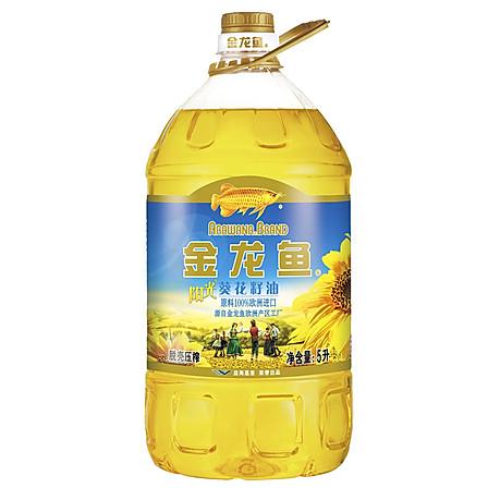 金龙鱼 阳光葵花籽油5L