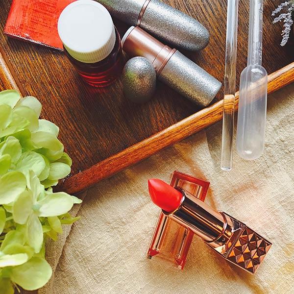 【预售!拍下一周后发货】豆果课堂 DIY流行色口红材料包|香奈儿43号色  虎虎生味儿老师亲自搭配