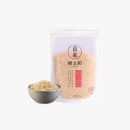 袁米 碱生稻杂粮粗粮糙米 1kg(新米预售款 下单后3-5个工作日内发货)