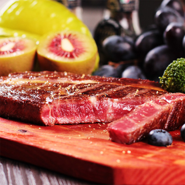 西厨贝可 澳洲菲力牛排10片装 1500g 含黑椒黄油刀叉